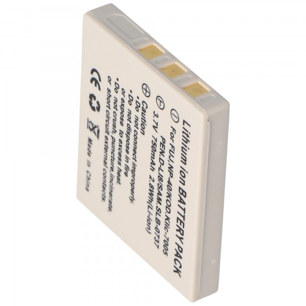 Batterie AccuCell pour Medion MD85416, NP40, 710mAh