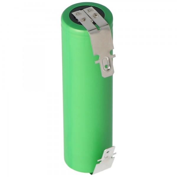 Batterie de remplacement adaptée à la batterie Bosch Ciso Capacité de 3,6 à 3,7 Volt max. 2200mAh