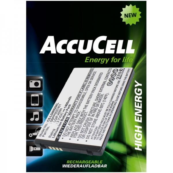 Batterie de remplacement AccuCell Li-ion pour LG Ally VS740, Etna, eXpo GW820