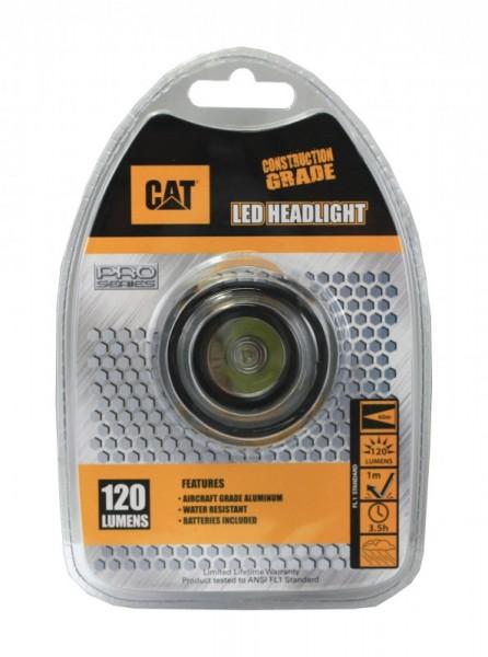 Lampe frontale à LED CAT CT40150P 120 lumens jusqu'à 60 mètres