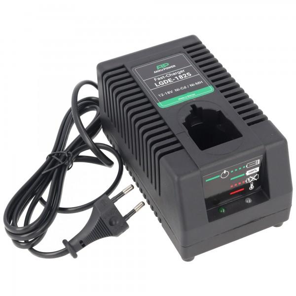 Chargeur universel LGDE-1825 Power pour batteries 12-18V