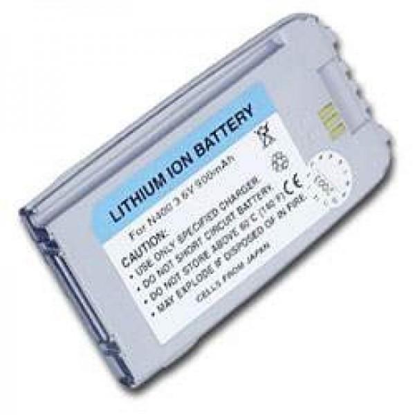 AccuCell batterie adapté pour Samsung SGH N400, nacre d'argent