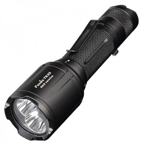 Fenix TK25RB lampe de poche à LED avec fonction d'éclairage LED rouge et bleu