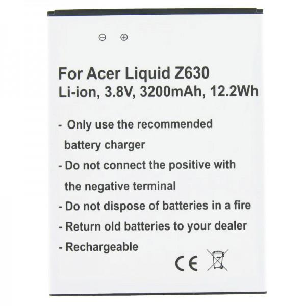 Batterie compatible pour Acer Liquid Z630 Batterie BAT-T11, KT.0010S.018