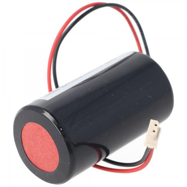 Batterie 13000mAh adaptée pour Eve ER34615-GL101, 0-9912-K, ER34615M / W200, Visonic Siren 710, 720