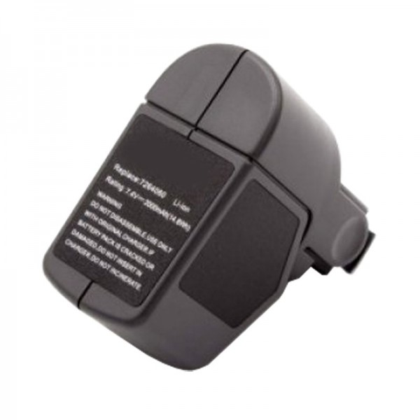 Batterie pour Wolf Garten Power RR 3000 batterie 7264060, 7264090 Li-ion Power Pack 4, 2,5 Ah
