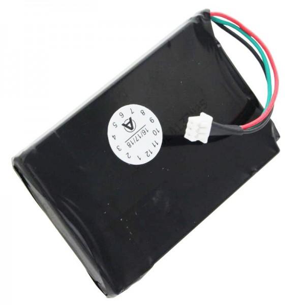 Batterie AccuCell pour Magellan Roadmate 1200, 1210, T0021, Remarque, uniquement pour version avec batterie à 3 câbles