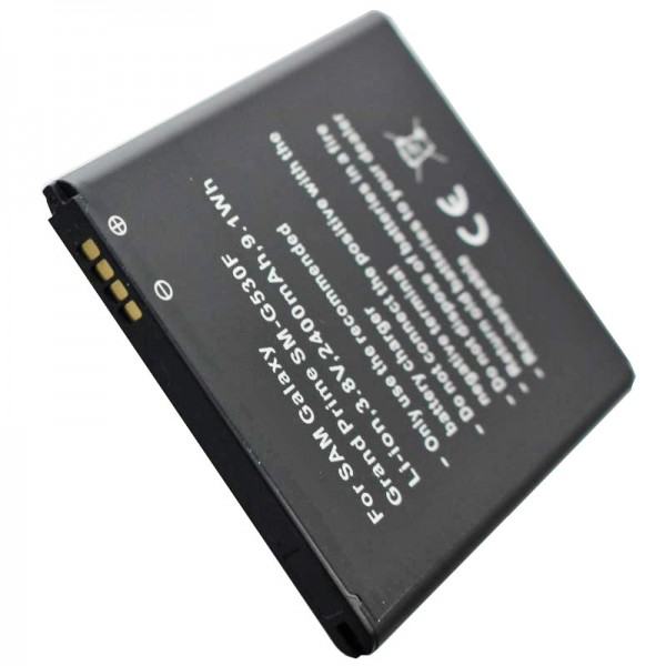 Batterie compatible pour Samsung Galaxy Grand Prime, SM-G530F, EB-BG530BB