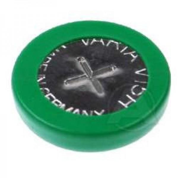 Pile bouton NiMH rechargeable Varta V15H NiMH avec étiquette de soudure ZF