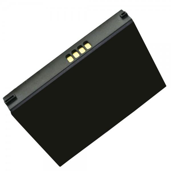 AccuCell batterie adapté pour Asus MyPal A632, SBP-03, A632N, A636