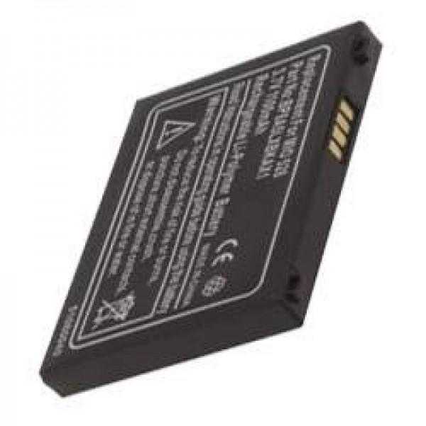 Batterie AccuCell adaptable sur Mitac Mio 528, P / N BP8A5LXBKAX1