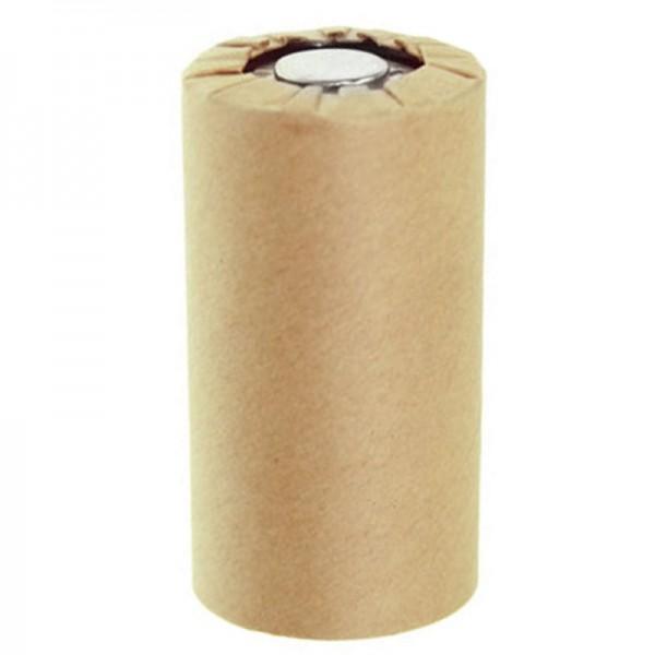 Sanyo N-3000CR Batterie Bébé / C NiCd à cellule unique en manteau de carton sans cosse à souder