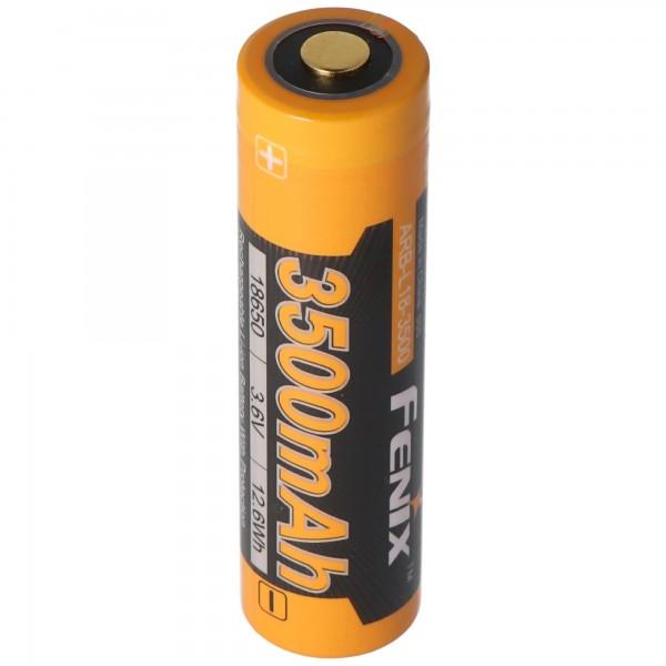 Batterie Li-ion Panasonic 18650 avec 3500mAh et 3 circuits de protection, 68.66x18.4mm