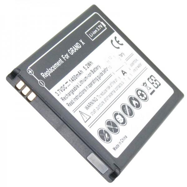Batterie pour ZTE Grand X batterie Li3716T42P3h594650, ZTE Blade 3