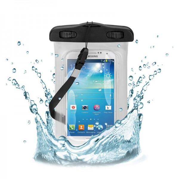 """Sac de plage pour smartphones jusqu'à 5,5 """"sacs de stockage résistant à l'eau et au sable"""