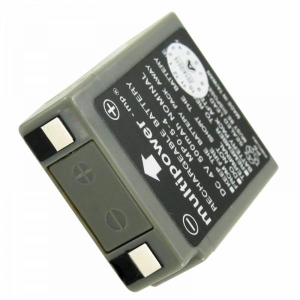 Câble PB pour batterie multipoint MP0.5-4, 4 V 500 mAh avec batterie K-contact MP0,5-4