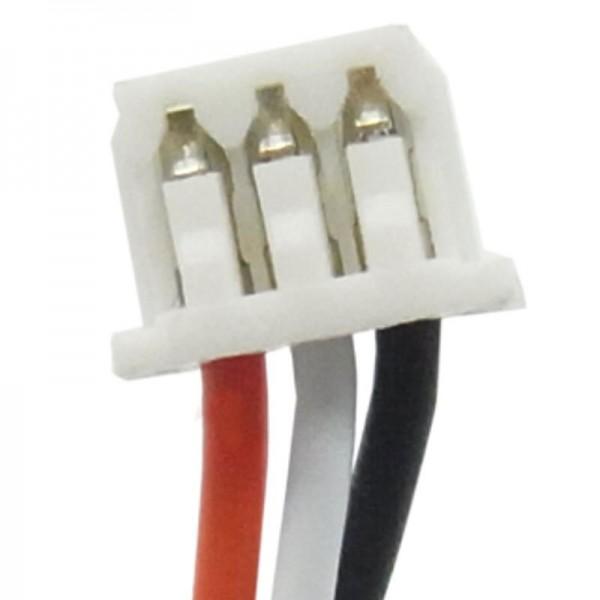 Batterie compatible pour Blaupunkt Travelpilot 300, 824850A1S1PMX