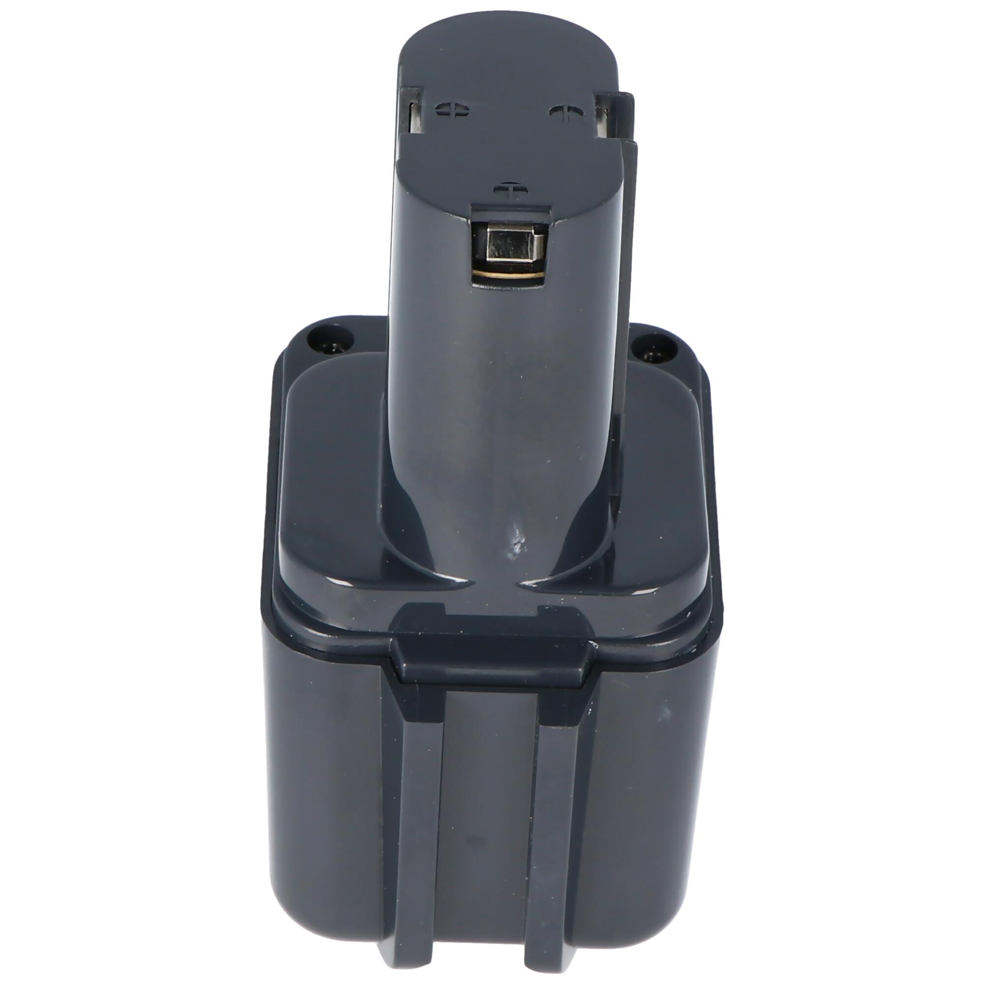 Batterie pour Bosch 2607300001, 2607335178, NiMH 2.0Ah