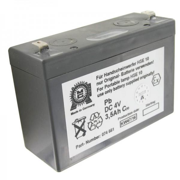Eisemann HSE10 batterie originale pour la lampe à main Eisemann