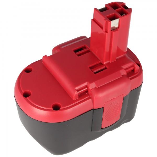 Batterie pour Bosch GSR 24VE-2, GBH 24V, 2607335268, 2.0Ah