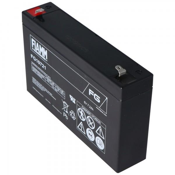 Fiamm FG10721 batterie au plomb 6 volts 7.2Ah