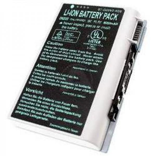 Batterie AccuCell pour Clevo D610, D620, D630, BAT-6120, 6000mAh