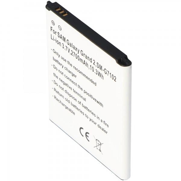 Batterie pour Samsung Galaxy Grand 2 Duos, EB-B220AC, EB665468LU