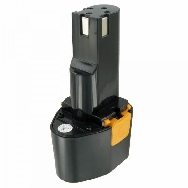 Batterie compatible avec la batterie Panasonic EY9080 Panasonic EZ 571, NiMH 3Ah