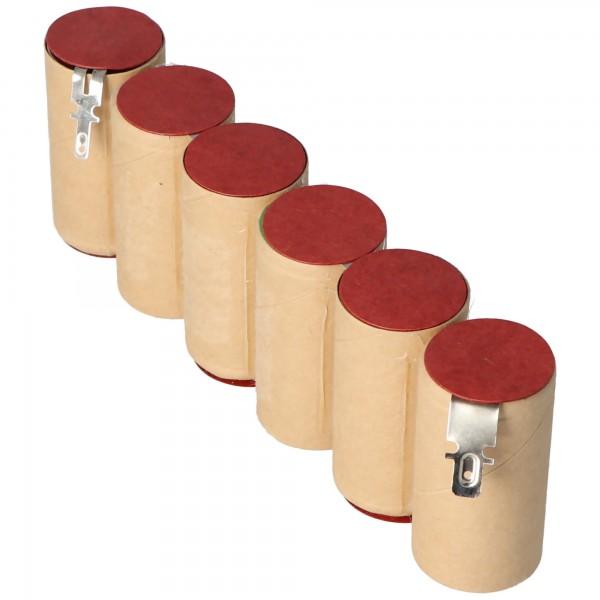Batterie pour Gardena ACCU 90, Accu90, batterie rechargeable NiMH Accu90, Gardena 8804, 8804-20