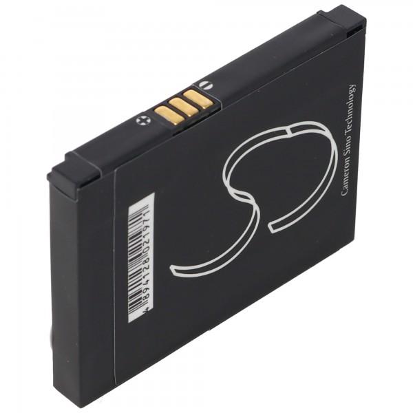 AccuCell batterie adapté pour Vodafone VDA GPS, BTR5700, DC070623YB