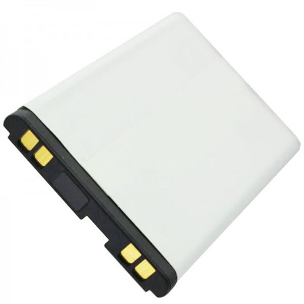 AccuCell batterie adapté pour LG B2050, LGTL-GBIP-830, 600mAh