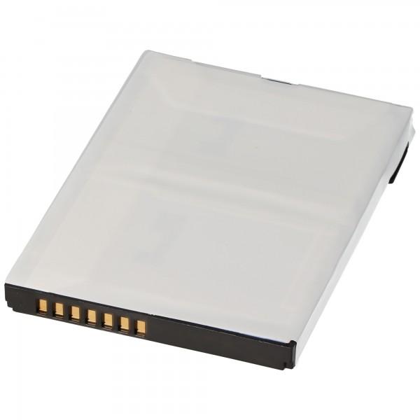 Batterie AccuCell compatible pour HP iPAQ HX4000, HX4700, 1800m
