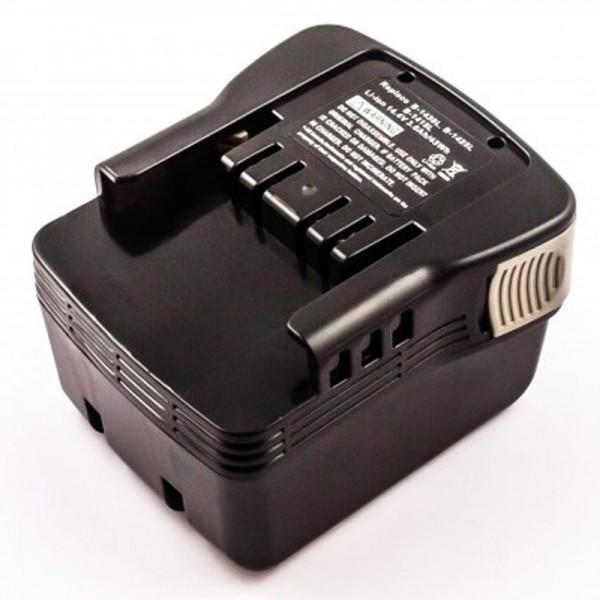 AccuCell batterie compatible avec la batterie Ryobi B-1415L 14,4 Volt, 3,0 Ah