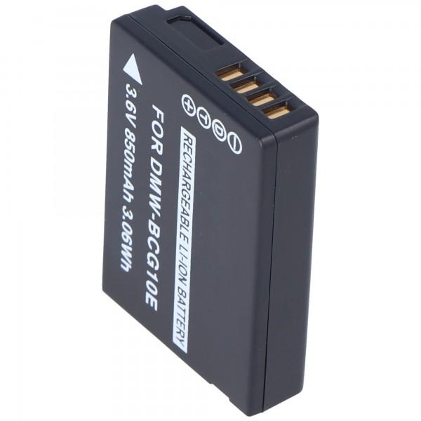 Batterie adaptée pour LEICA BP-DC7E, BP-DCU, V-LUX 20
