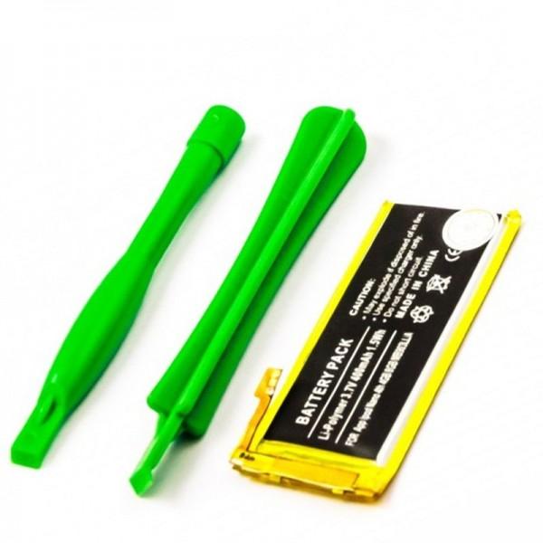 Batterie compatible avec la batterie Apple iPod Nano 4ème, 4 Go, 8 Go, MB903LL / A