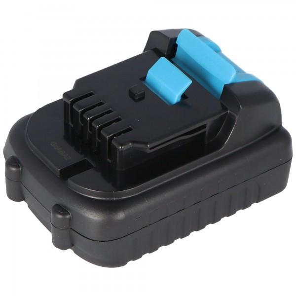 Batterie compatible avec la batterie Li-ion Dewalt DCB120, DCB121, DCB127, 12Volt 2Ah