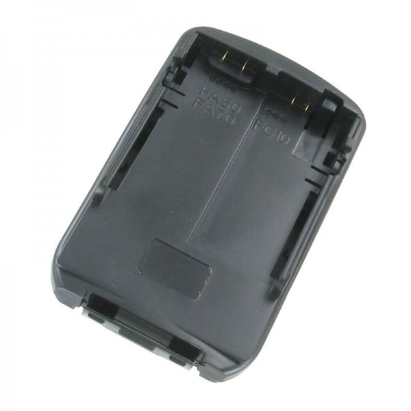 Socle de charge ALPHA400, adaptateur de charge pour NP-FC10, NP-FA50, NP-FA70