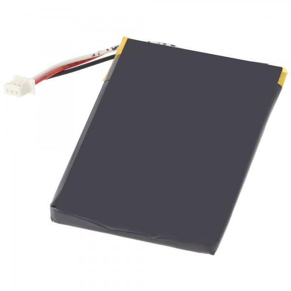 AccuCell batterie adaptée pour Navigation Falk M2 batterie, M4, M6, M8 et 57181740068
