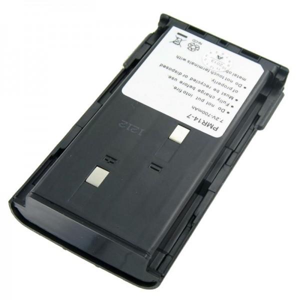 AccuCell batterie adapté pour Kenwood TK 261, KNB-14, -15, 700mAh
