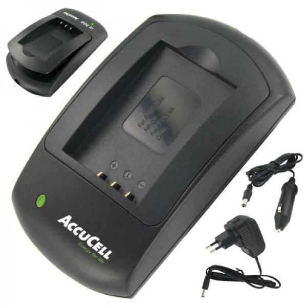 AccuCell chargeur rapide approprié pour Rollei XS-10 en batterie tactile