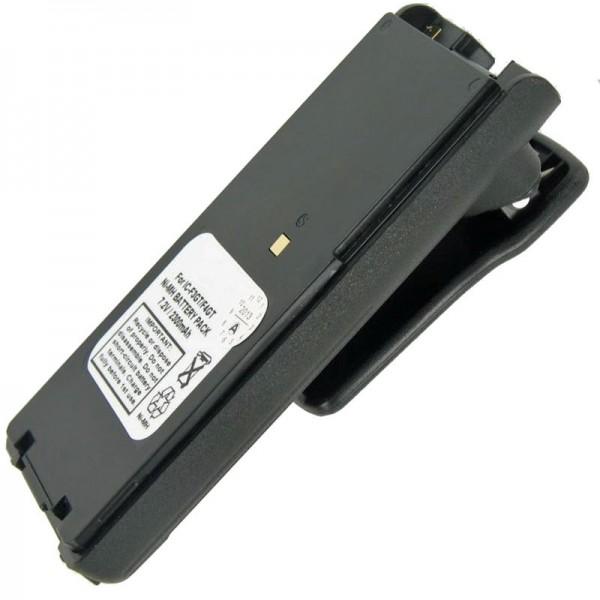 Batterie adapté pour ICOM IC-F3GS, IC-F4GS, BP-209, BP-210