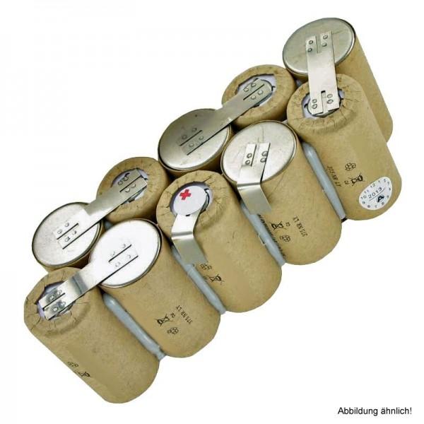 Batterie pour EURAS XXL 100 aspirateur à main type 130.016