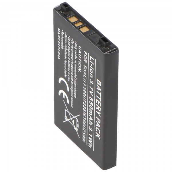 Batterie AccuCell adaptable sur Sony Ericsson K506, K506i, Z200i