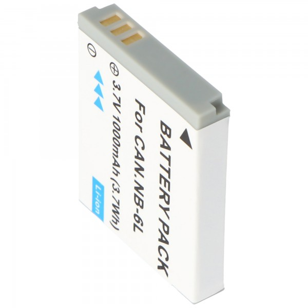 Batterie compatible pour Canon NB-6LH Batterie pour Canon Powershot S200