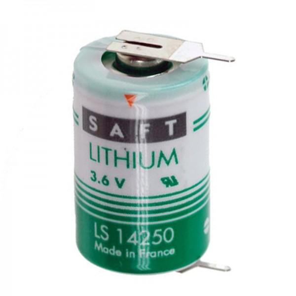 SAFT LS142502PF pile au lithium, taille 1/2 AA avec drapeaux imprimés