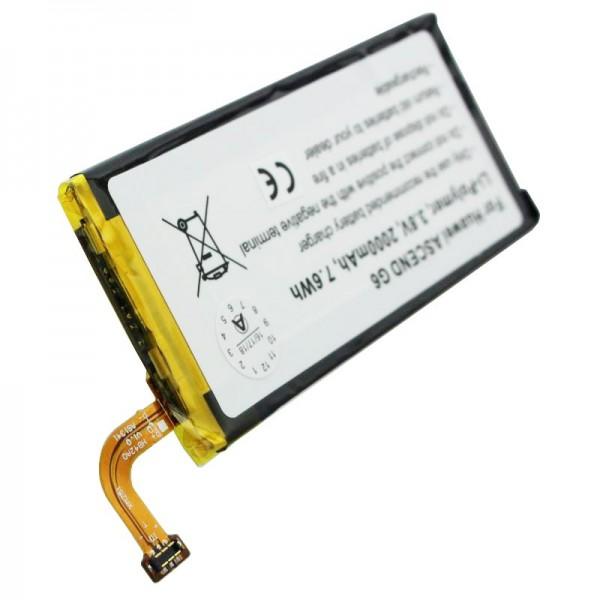 Batterie pour Huawei Ascend G6, Ascend P6, Ascend P7