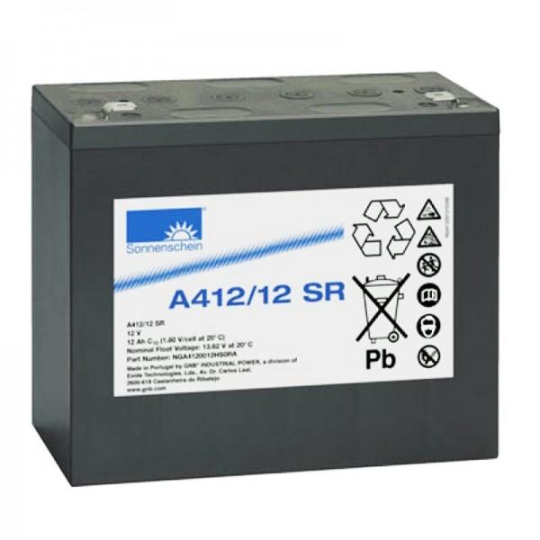Sunshine Dryfit A412 / 12SR batterie au plomb PB 12Volt 12Ah