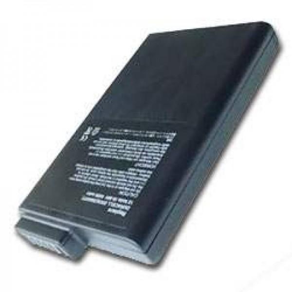 AccuCell batterie adapté pour Duracell DR36S (Dump), 4000mAh