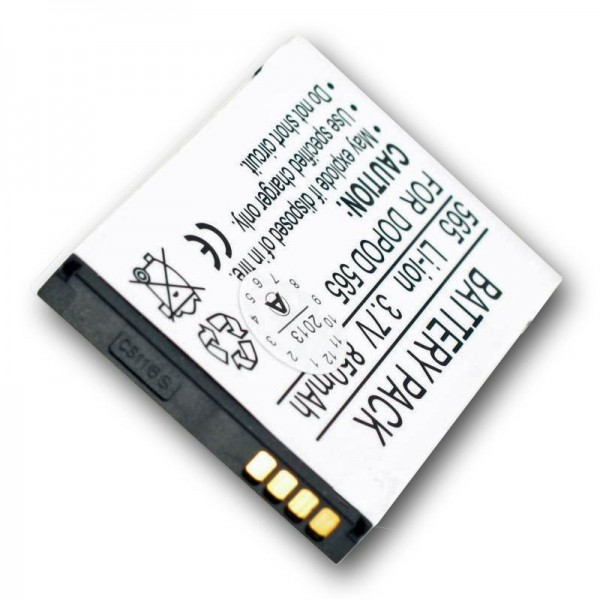 Batterie AccuCell adaptable sur QTEK 8020, ST26