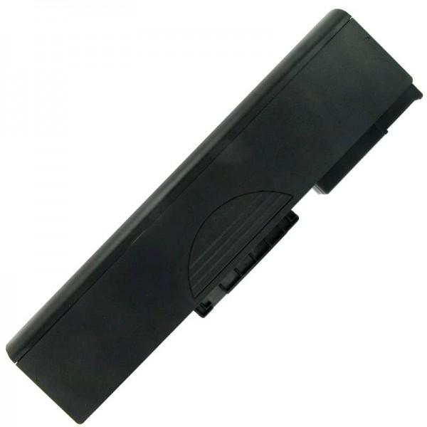 Batterie AccuCell pour Medion MD41300, BT-P77BM, 6600mAh